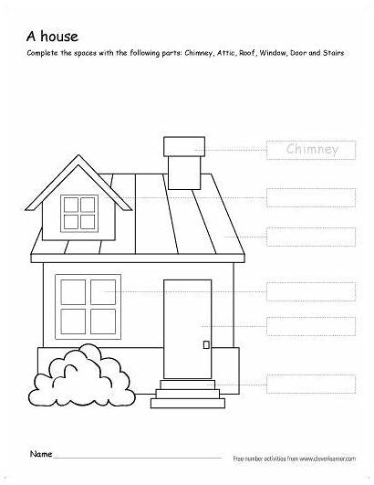 Parts Worksheets Colour Printable Grade Activity Coloring