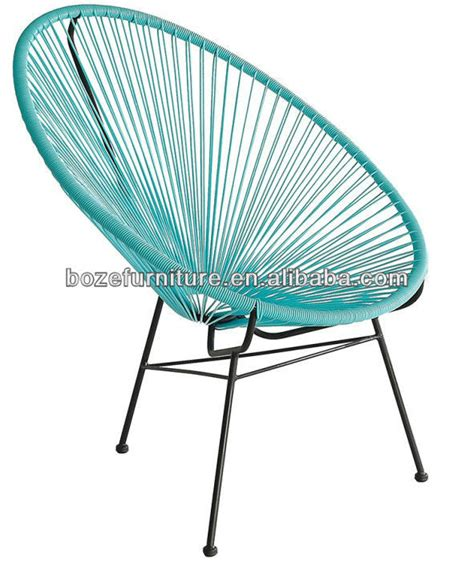outdoor plastic string chair rattan family acapulco