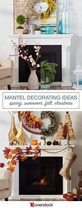 Mantel, Decorating, Ideas, By, Season