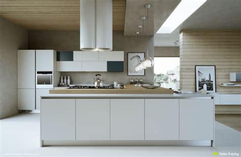 cuisine grise et blanche cuisine bois et blanc moderne 25 idées d aménagement