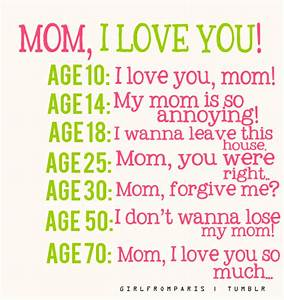 HAPPY MOTHERS DAY QUOTES FROM DAUGHTER TUMBLR image quotes ...