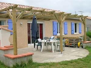 Fabriquer Pergola Bois : fabriquer une pergolas innovation ~ Preciouscoupons.com Idées de Décoration