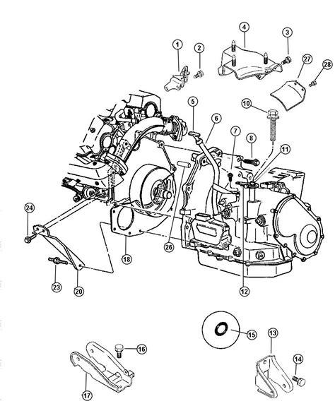 41te Transmission Diagram by 06503523 Mopar Bolt Hex M12 1 75x60 Mounting