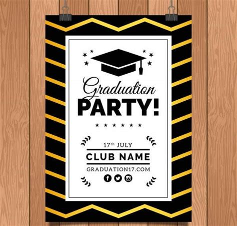 19+ Free Graduation Invitation Designs & Templates PSD
