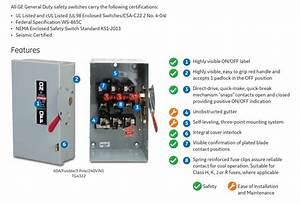 30 30 Amp Disconnect Wiring Diagram