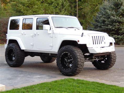 white jeep sahara lifted lifted white jeep wrangler unlimited 2013 jeep wrangler