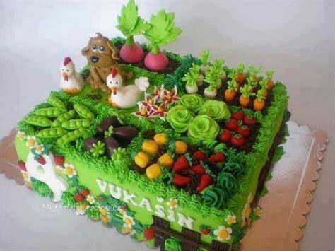 cake garden garden cake cake decorations pinterest gardens the chicken and the o jays