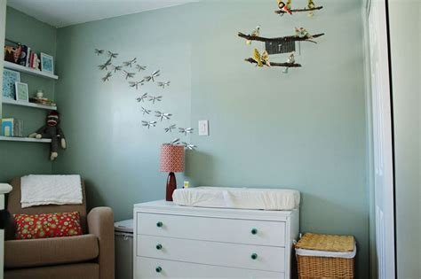 creative ideas   nursery accent wall