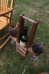 Outdoor Wine Caddy Woodworking, Wine and Wood projects