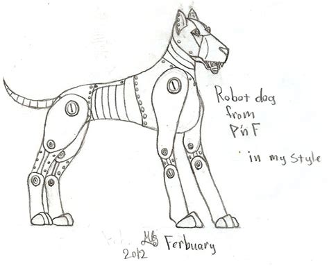 Pnf Robot Dog By Tallieho On Deviantart