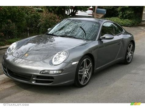porsche carrera 2007 2007 atlas grey metallic porsche 911 carrera 4s coupe