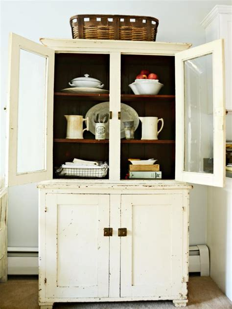 farmhouse china cabinet plans antique kitchen decorating pictures ideas from hgtv hgtv