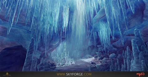 concept art ice frost