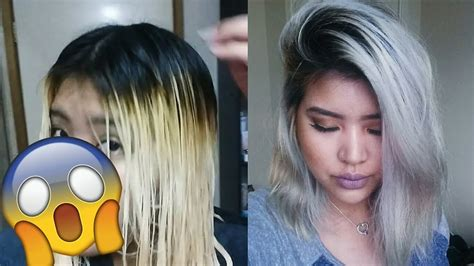 How To Get Silver Hair With Wella T18!