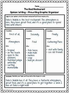 Image Result For Opinion Essay Examples 4th Grade