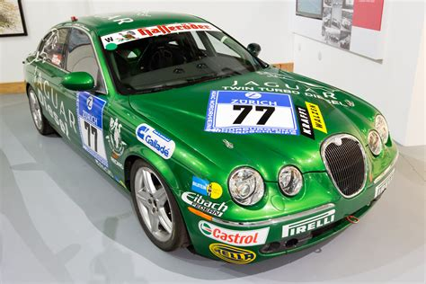 Jaguar S-type Diesel Race Car Front-right Heritage