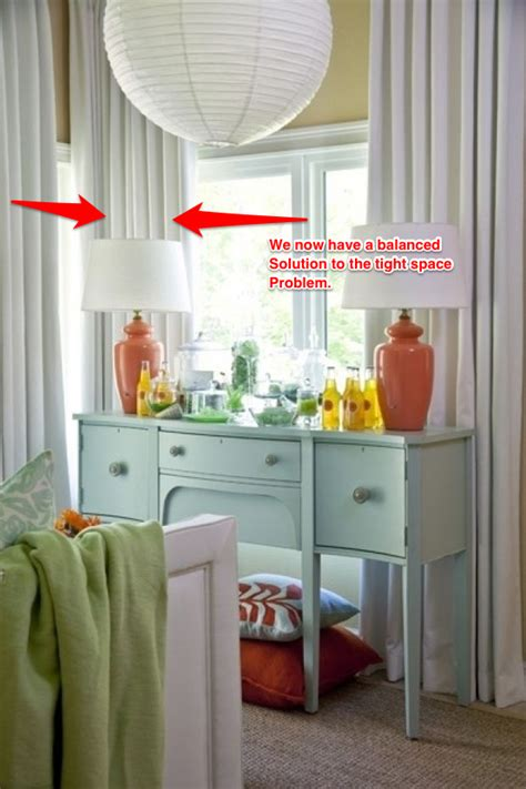 sugar cube interior basics how to hang drapes on