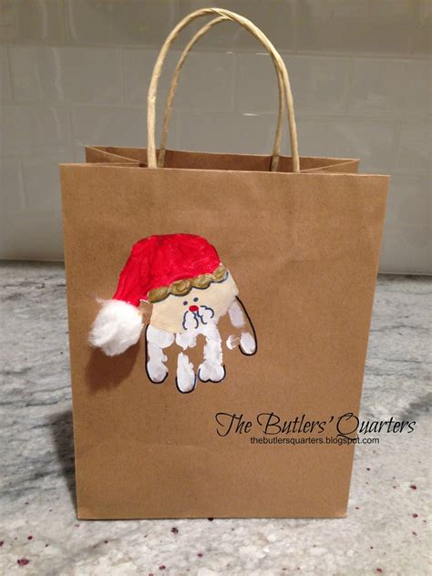 the butlers quarters diy christmas gift bags and teacher