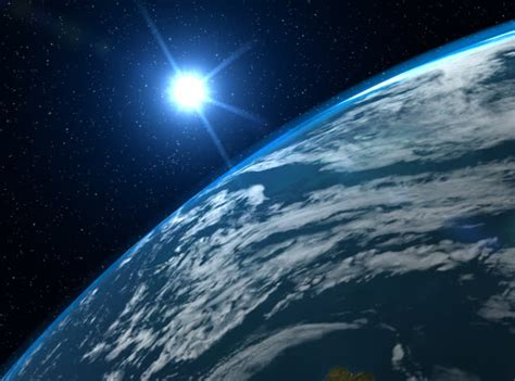big filmic blue planet stock footage video