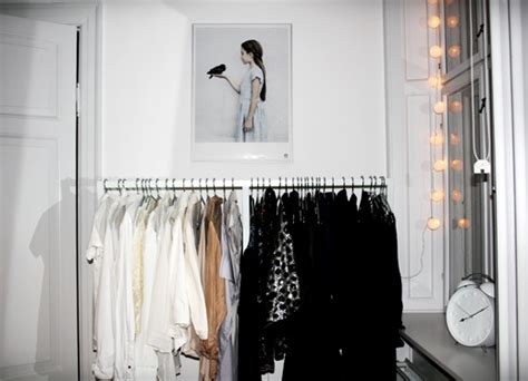I Want A Clothing Rack For My Bedroom And Fairy Lights