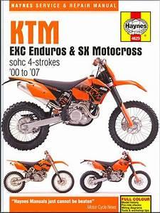Ktm Exc  Sx  Smr Repair Manual 2000