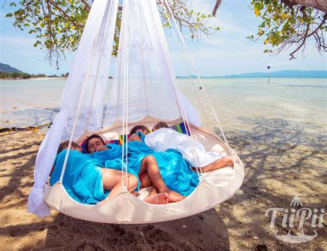 Hammock As A Bed by Tiipii Bed Hanging Hammock 187 Gadget Flow