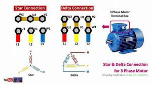 3 Phase Motor Delta Connection