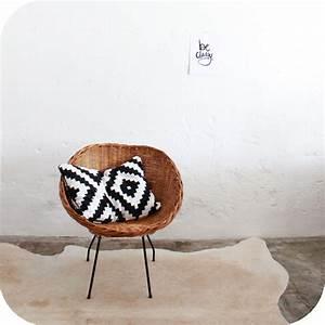 Mobilier Vintage Fauteuil Osier Rotin Vintage Atelier