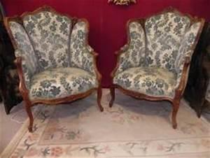 Fauteuil Ancien Bergere : fauteuil ancien bergere ~ Teatrodelosmanantiales.com Idées de Décoration