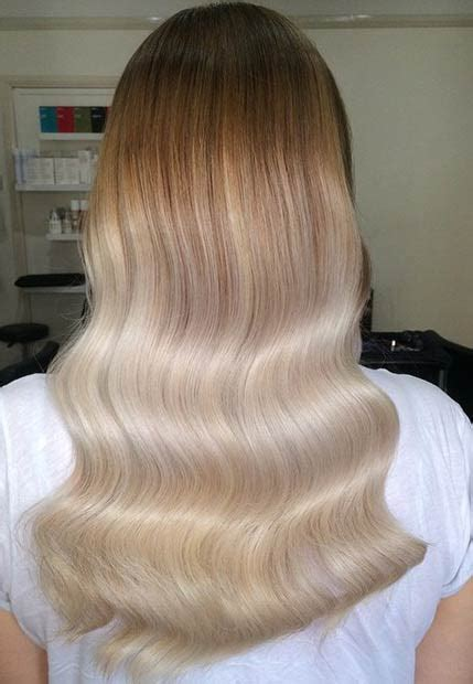 charming  chic blonde balayage  ohh
