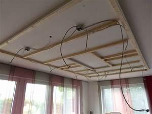 Wie Streicht Man Eine Decke : indirekte deckenbeleuchtung mit led strips ~ Buech-reservation.com Haus und Dekorationen