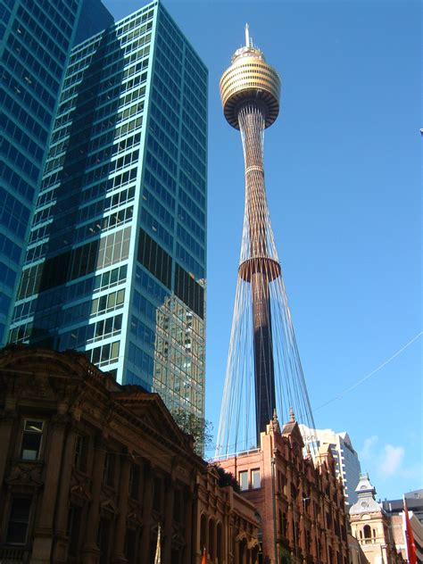 sydney tower tower  sydney thousand wonders