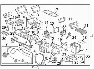 Chevrolet Traverse Console Lid  Front   Power  Center