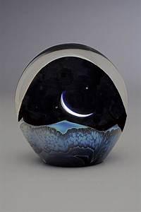 Moonrise Paperweight by Robert Burch (Art Glass
