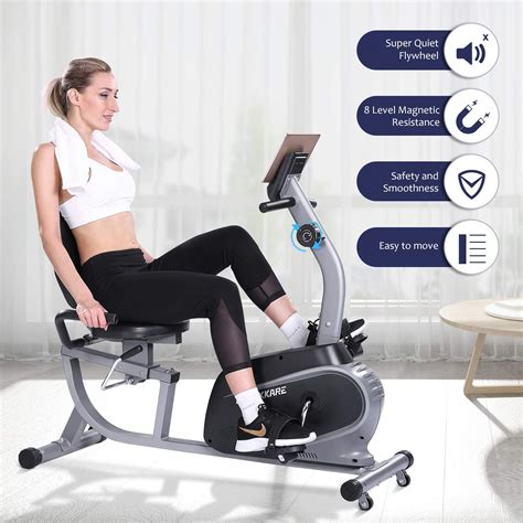 MaxKare Recumbent Exercise Bike | How To Build That Body