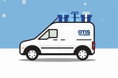 Otis Animated Elevator Animation Van Newsletter