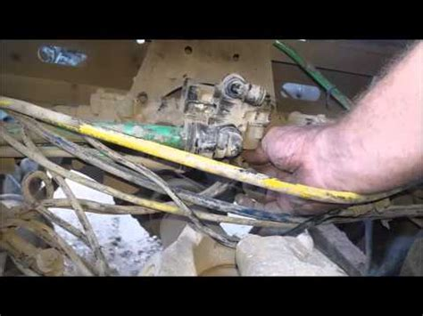 freightliner abs air brake valve replacement youtube