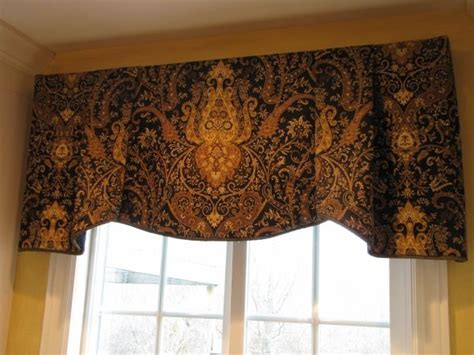 This simple to make board mounted valance uses one yard of