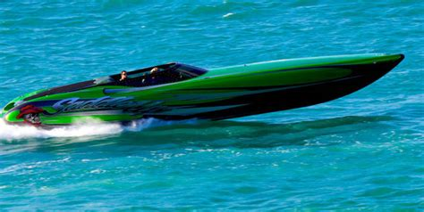 Up Boat by Statement Marine S 42 V Bottom Quot Saddle Up Quot Pushes 107mph
