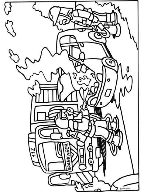 Kleurplaat Vuur Ponyta by Kleurplaat Brandweer Blussen Vuur Kleurplaten Nl