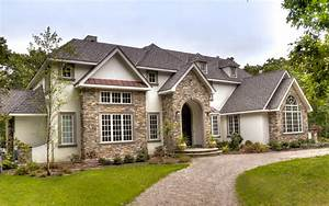 European, Style, Home, With, Natural, Thin, Stacked, Stone, Cladding, -, Mediterranean, -, Exterior