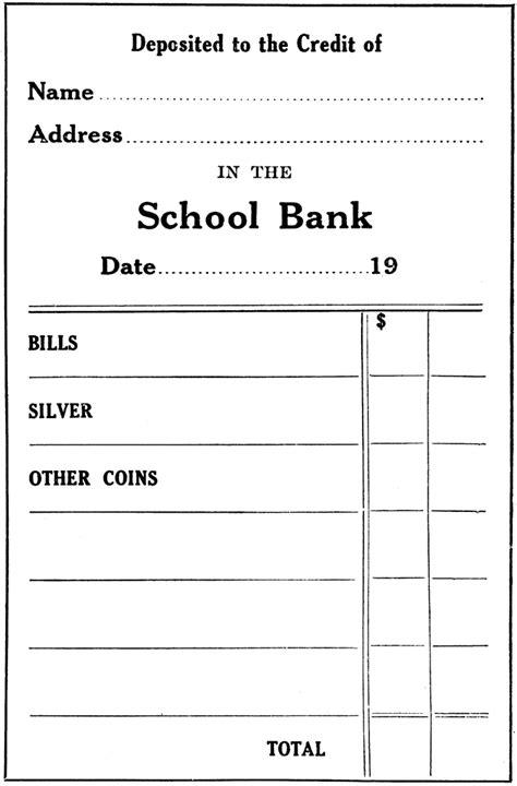 blank deposit slip printable bank of america deposit slip autos post