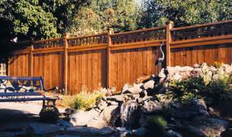 wood fence sealing fences