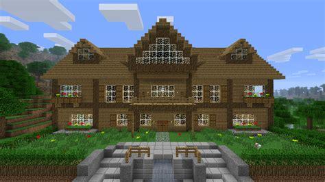 minecraft maison