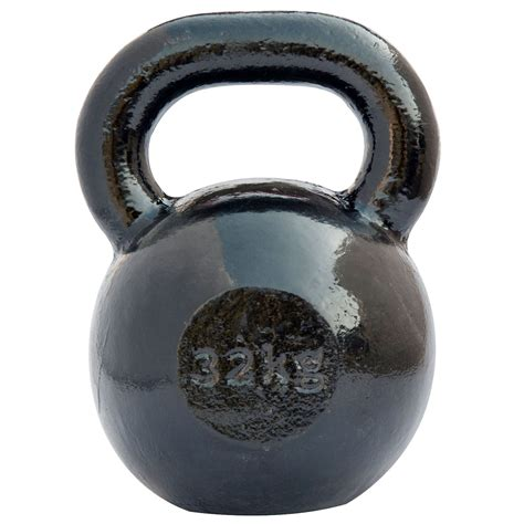 iron kettlebell cast dkn 32kg weight