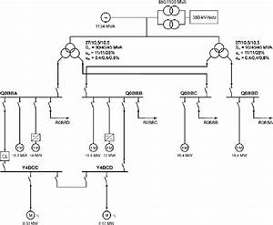 Project 2  Schematic Diagram Of The Power Plant Auxiliary Supply  The