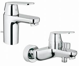 Mitigeur Grohe Lavabo : grohe mitigeur eurosmart lavabo bain douche de grohe ~ Dallasstarsshop.com Idées de Décoration