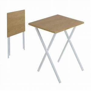 Petite Table Pliante : table pliable nordic 61 cm achat vente table d 39 appoint table pliable nordic 61 cm cdiscount ~ Teatrodelosmanantiales.com Idées de Décoration