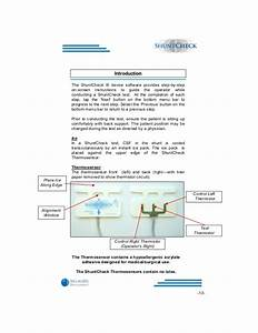 Shuntcheck Operating Manual
