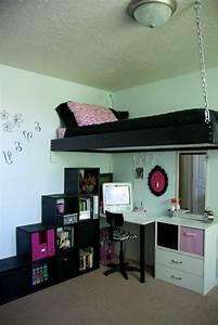 Zettels Kleines Zimmer : hochbett raumsparende l sung traumzimmer jugendzimmer und zimmer einrichten ~ Watch28wear.com Haus und Dekorationen